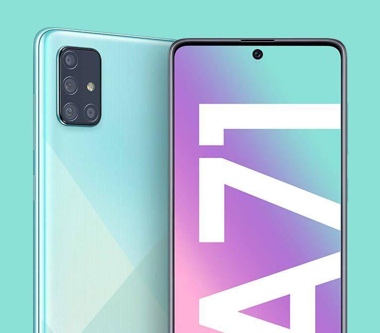 Oferta móviles Samsung Galaxy a71