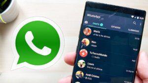 cómo utilizar el modo oscuro en WhatsApp iOS Android