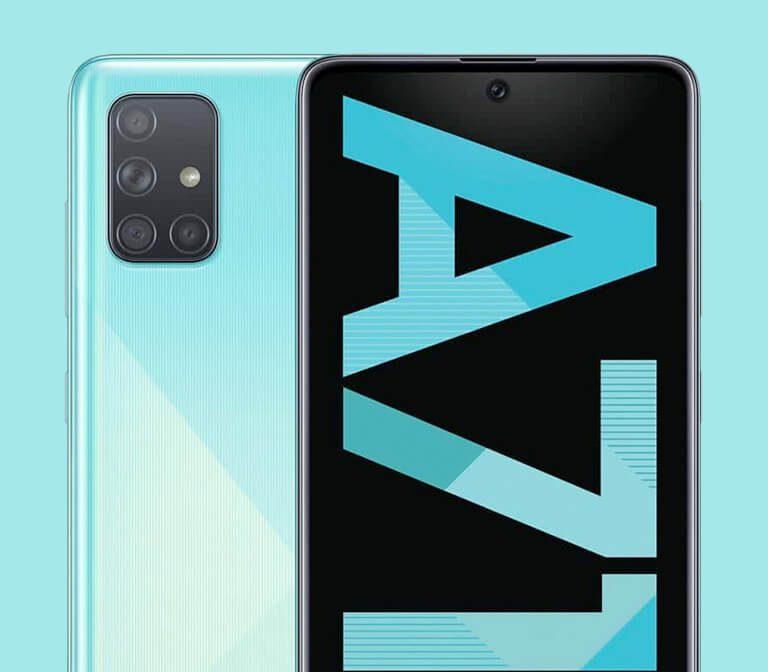Móviles baratos Galaxy A71