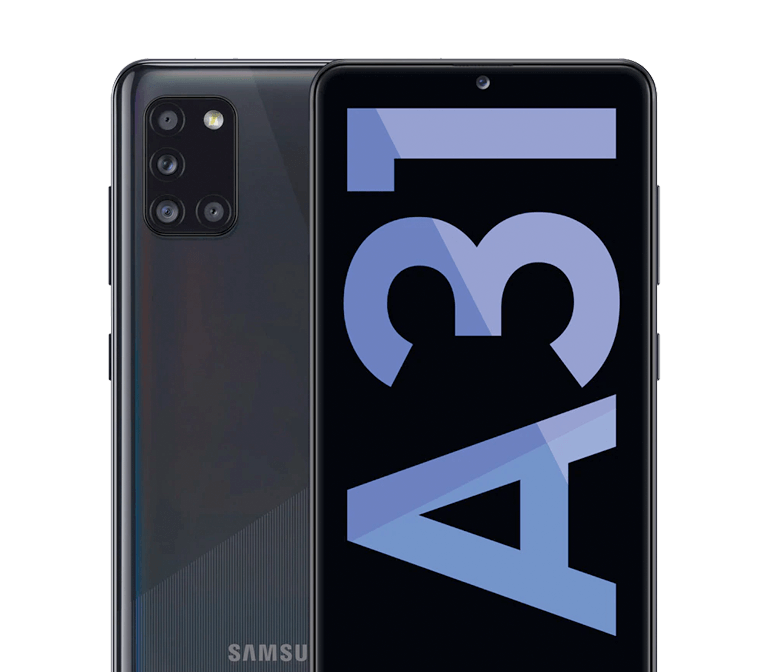 Oferta Black Friday móvil Galaxy A31 negro