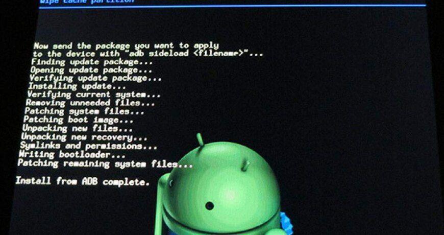 como resetear un Android
